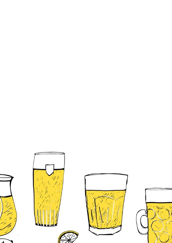 Uitnodiging feest biertjes 3