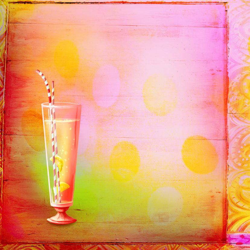 Uitnodiging Feest Cocktails - SG 2
