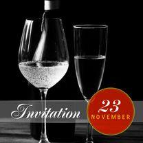 Uitnodigingen - Uitnodiging feest stijlvol a