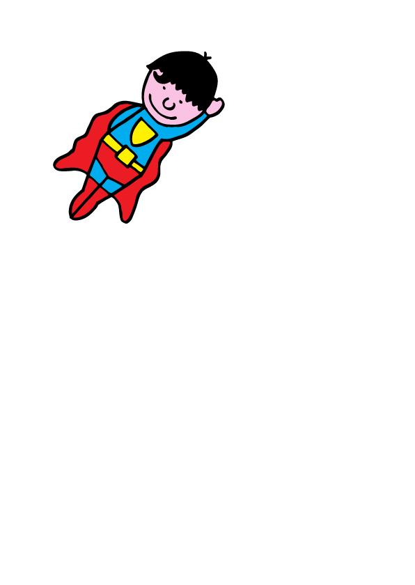 uitnodiging feestje superman 2
