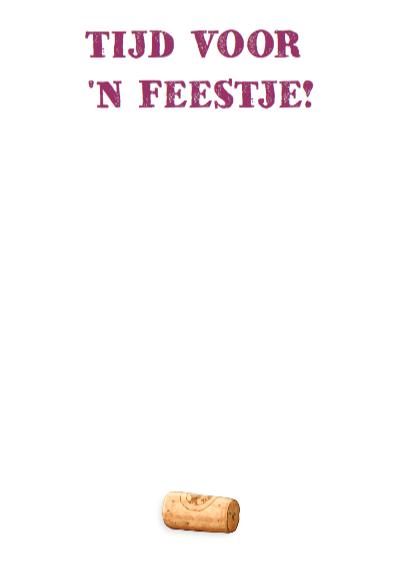 Uitnodiging Feestje wijnglazen 9 3