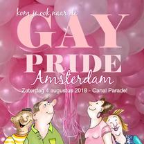 Uitnodigingen - Uitnodiging Gay Pride Amsterdam