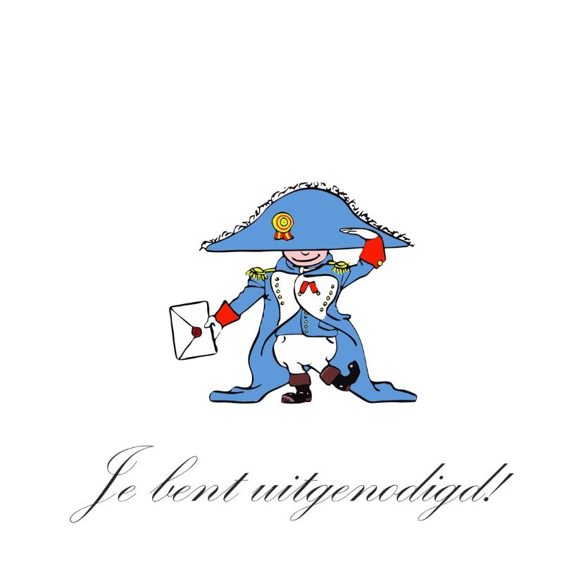 Uitnodiging Grappig Napoleon 3