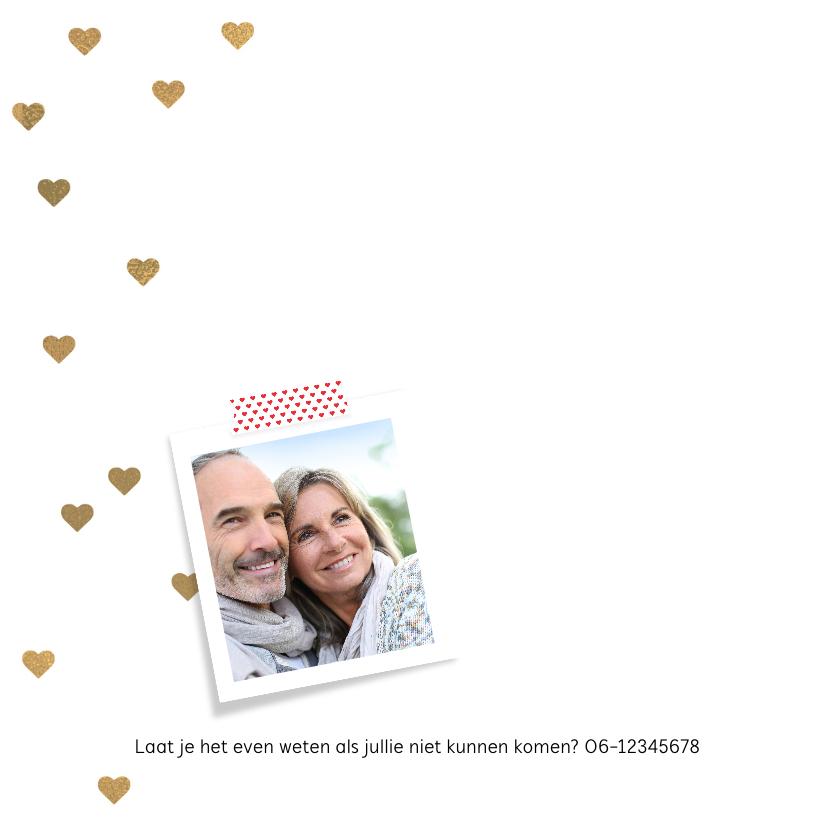 Uitnodiging huwelijksjubileum 30 jaar 2