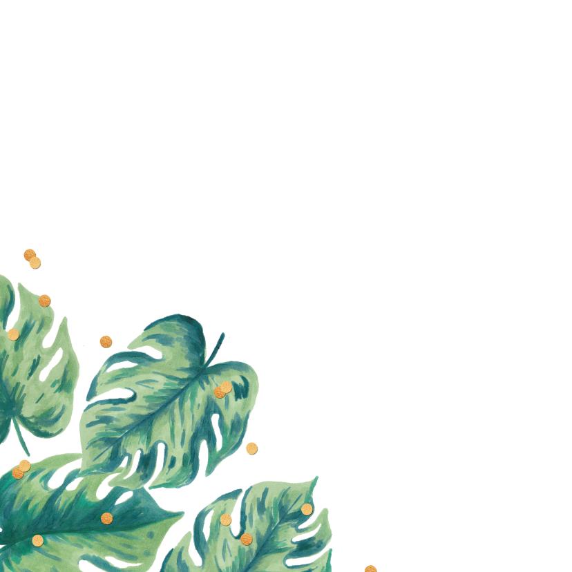 Uitnodiging huwelijksjubileum botanical foto 2
