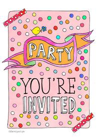 Uitnodigingen - Uitnodiging invitide - SD
