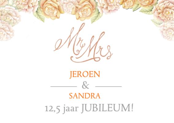uitnodiging jubileum rozen 2
