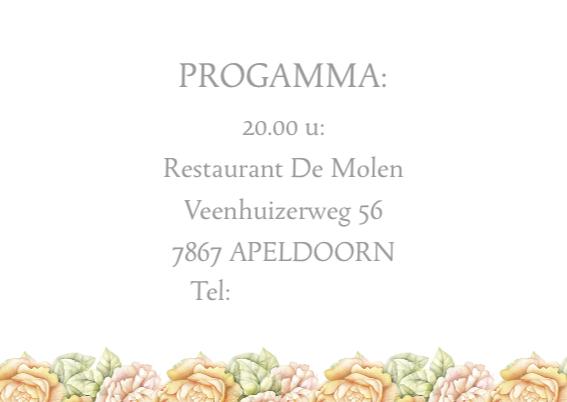 uitnodiging jubileum rozen 3