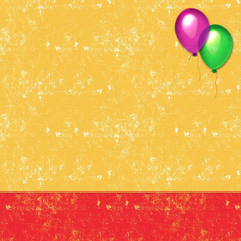 uitnodiging kinderfeest ballon 3
