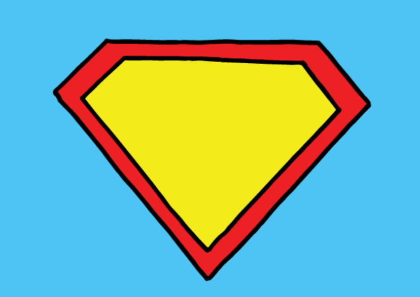 uitnodiging kinderfeest superman 3