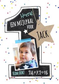 Kinderfeestjes - Uitnodiging Kinderfeestje Jack 1