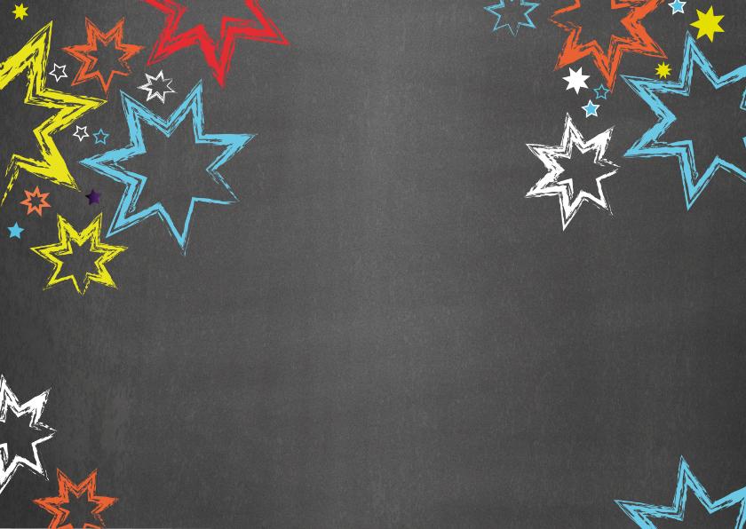 Uitnodiging kinderverjaardag stoer graffiti Party 2
