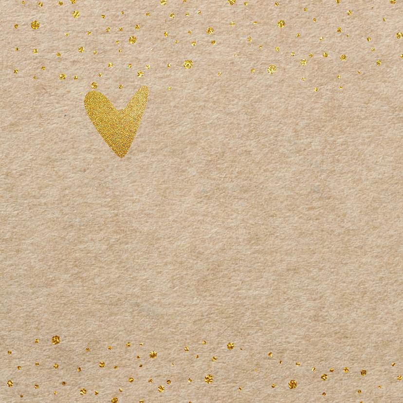 Uitnodiging kraft confetti - LO 2