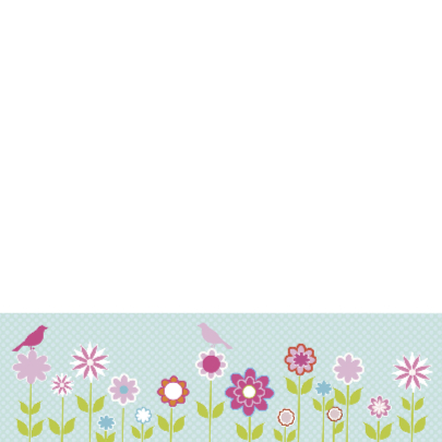 uitnodiging lentefeest bloem 2