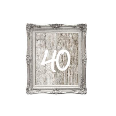 Uitnodiging lijst 40 jaar verjaardag 2