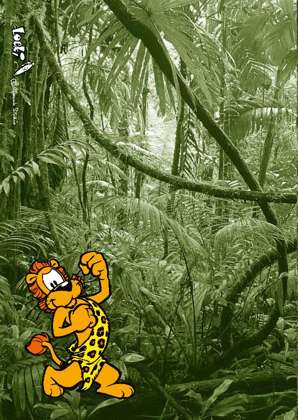 Uitnodiging Loeki Junglefeest - A 2
