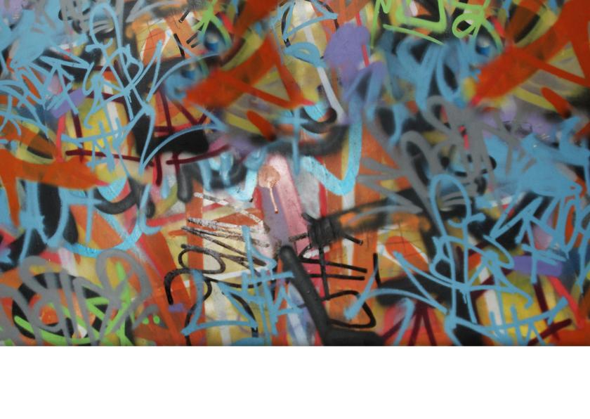 uitnodiging man jongen puber tiener graffiti 2