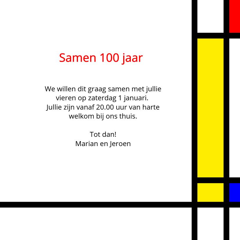 Uitnodiging Mondriaan samen 100 3