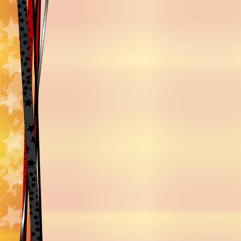 Uitnodiging Oranje lint foto 2
