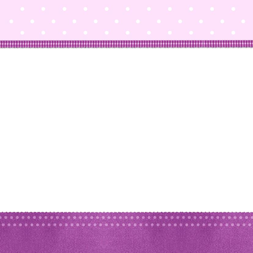 Uitnodiging paarse lijst - BK 3