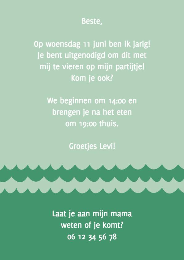 Uitnodiging partijtje walvis 3