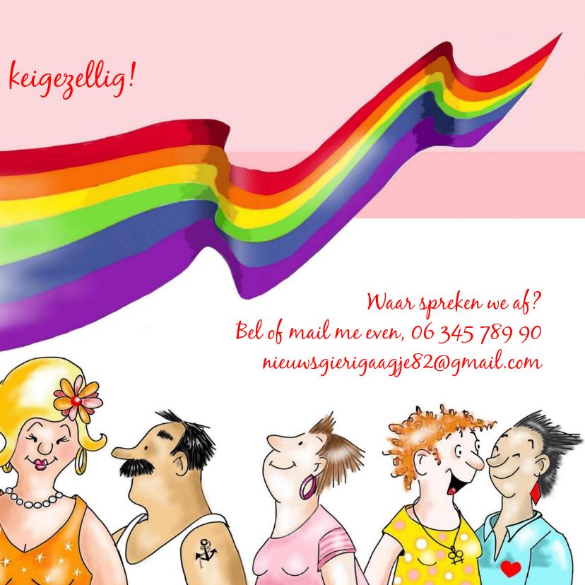 Uitnodiging Roze Zaterdag juni 3