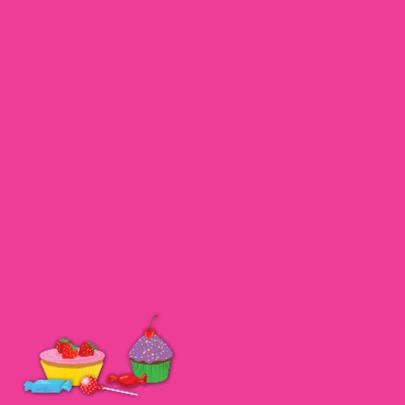 uitnodiging taart eigen naam & leeftijd meisje 2