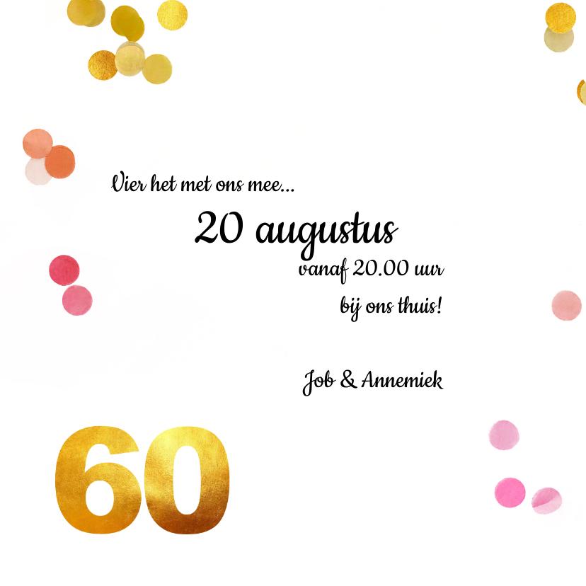 Uitnodiging verjaardag 60 goud 3