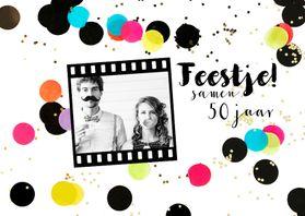 Uitnodigingen - Uitnodiging verjaardag feest hip