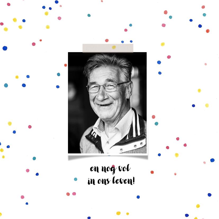 Uitnodiging verjaardag opa feest 2