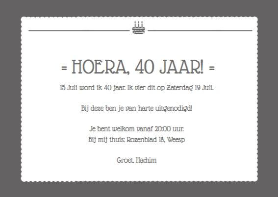 Uitnodiging verjaardagen feestje 3