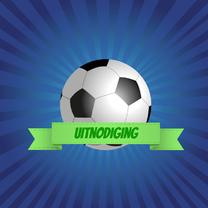 Kinderfeestjes - Uitnodiging Voetbal feestje