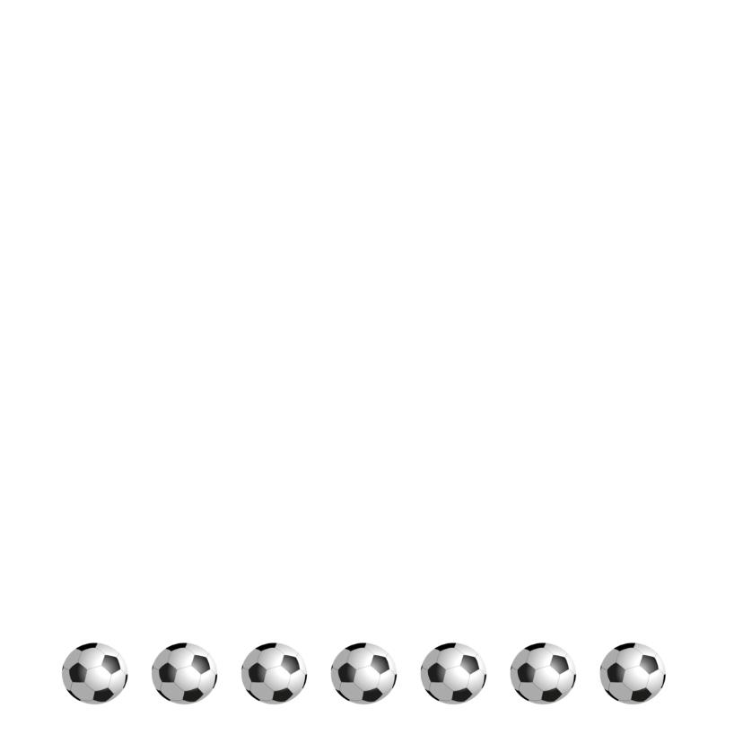 Uitnodiging Voetbal keeper 2