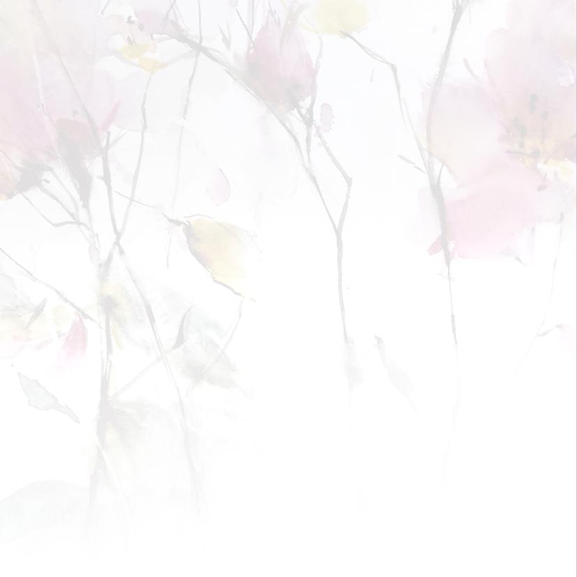 Uitnodigingen aquarel YO 2