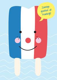Vakantie-Groeten Frankrijk-HK