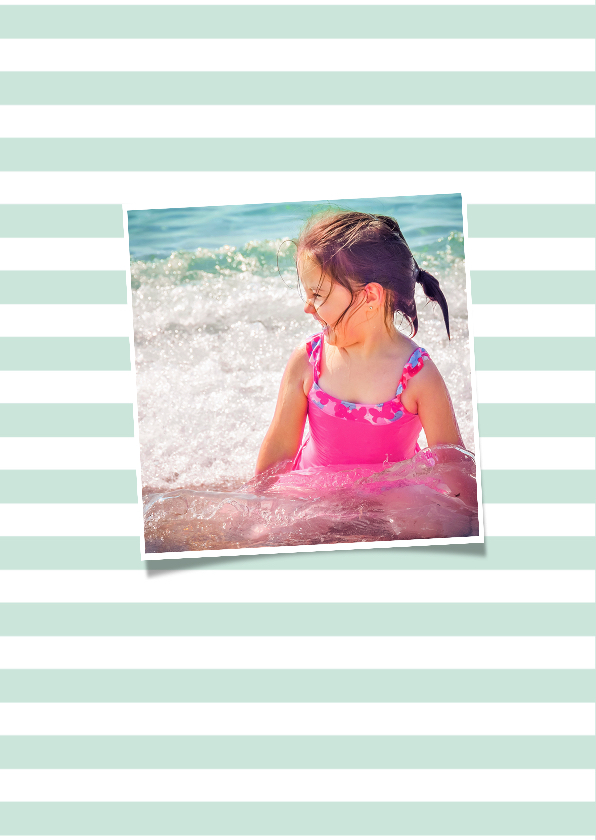 Vakantie groeten zomer letters 2