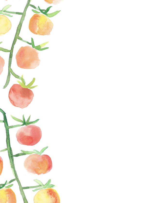 Vakantiegroet Italië met tomaatjes 2