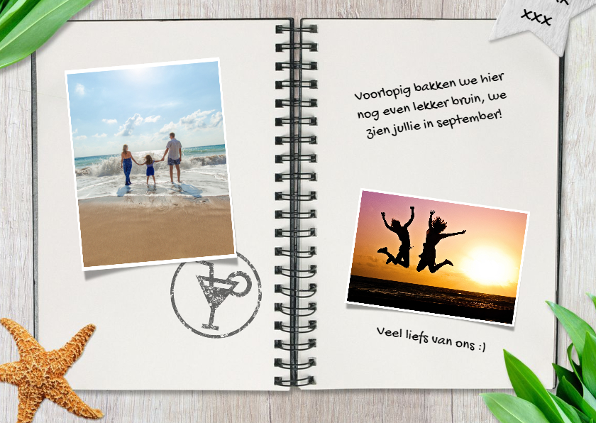 Vakantiekaart travel journal 3
