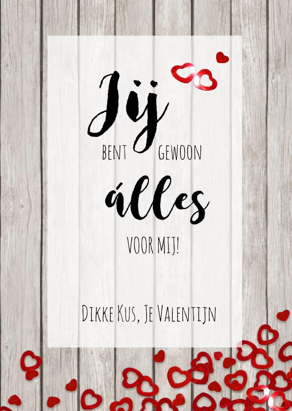 Valentijn confetti hartjes 3