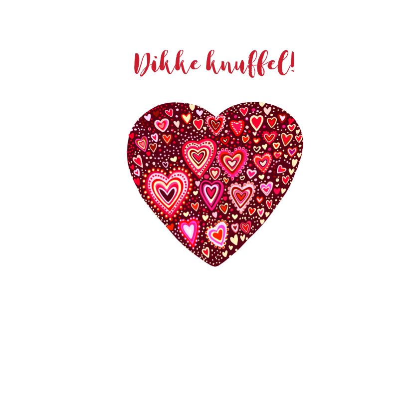 Valentijn gekleurde hartjes 2