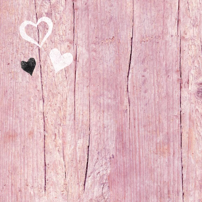 Valentijn geweldig roze hartjes 2