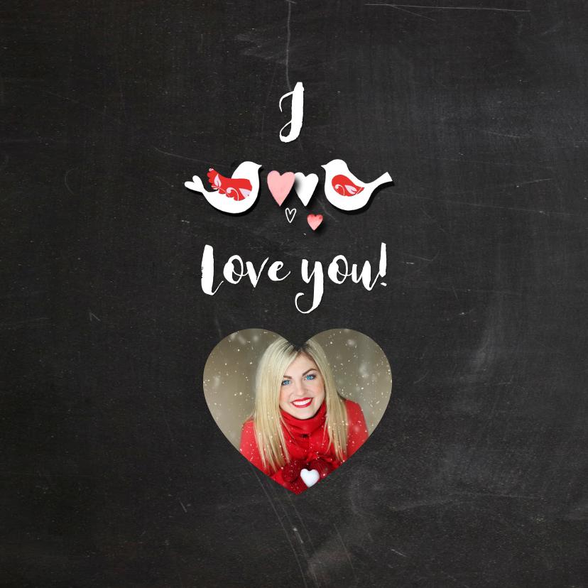 Valentijn hart schoolbord 2