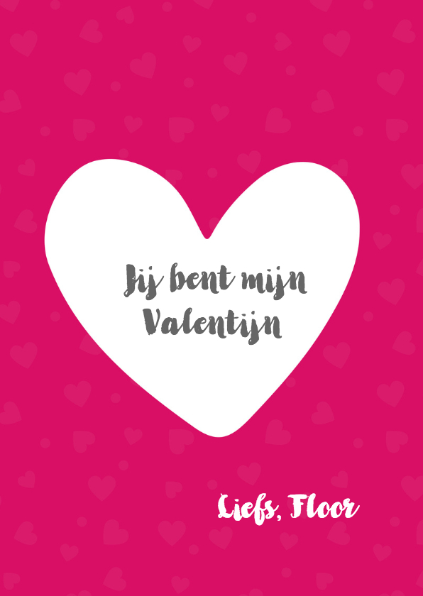 Valentijn i love you 3