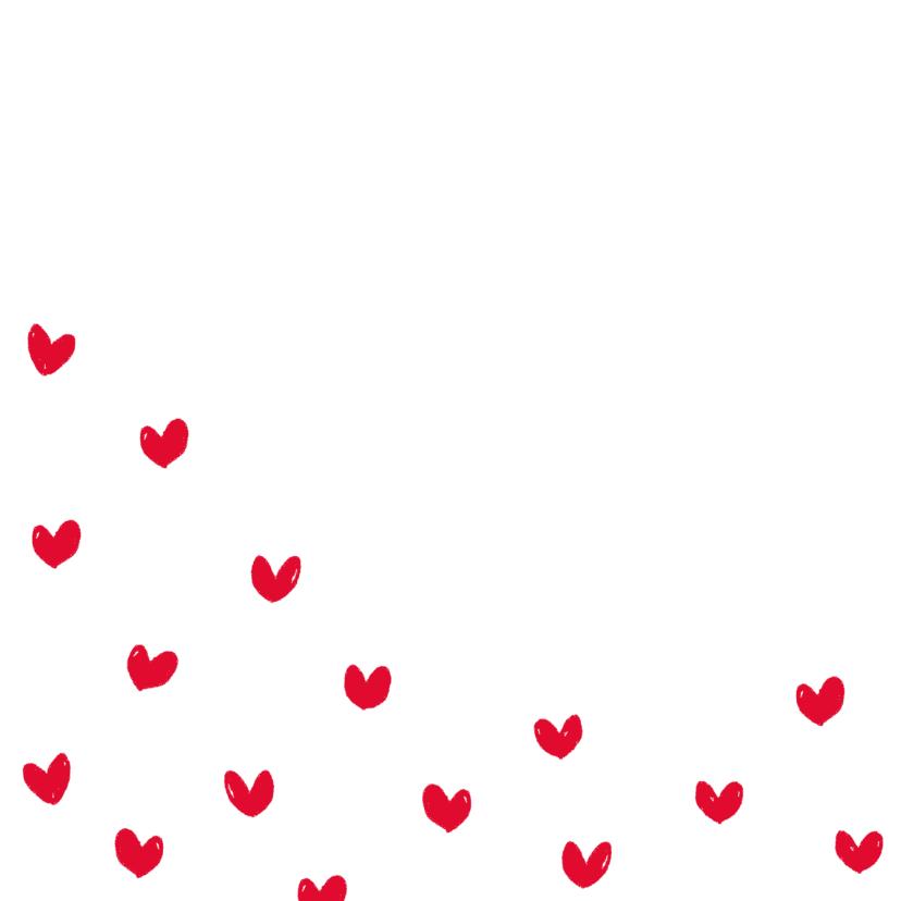 Valentijn romantische hartjes 2