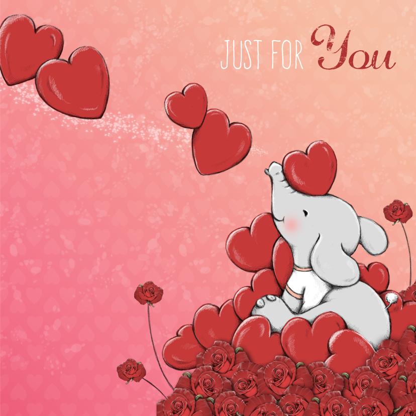 Valentijnskaart all my love - IH 3