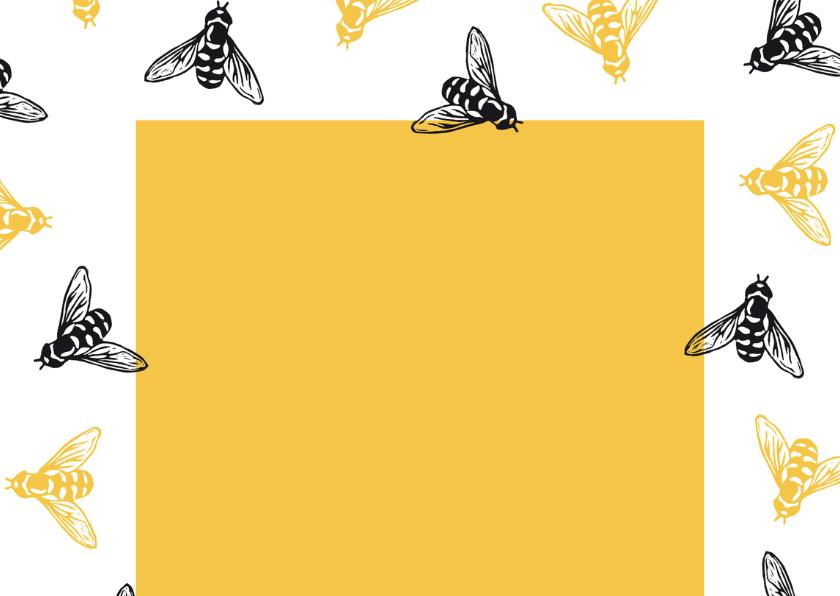 Valentijnskaart bijtjes - Bee my Valentine 2
