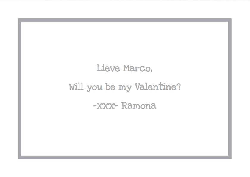 Valentijnskaart Foto Love 3