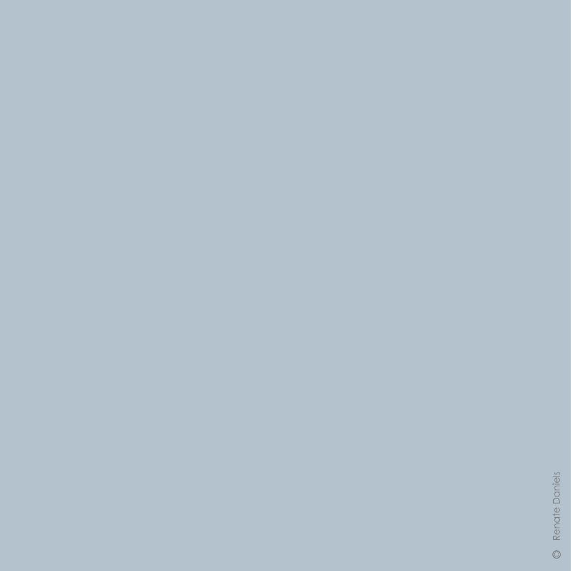Valentijnskaart geometrisch hart blauw 2