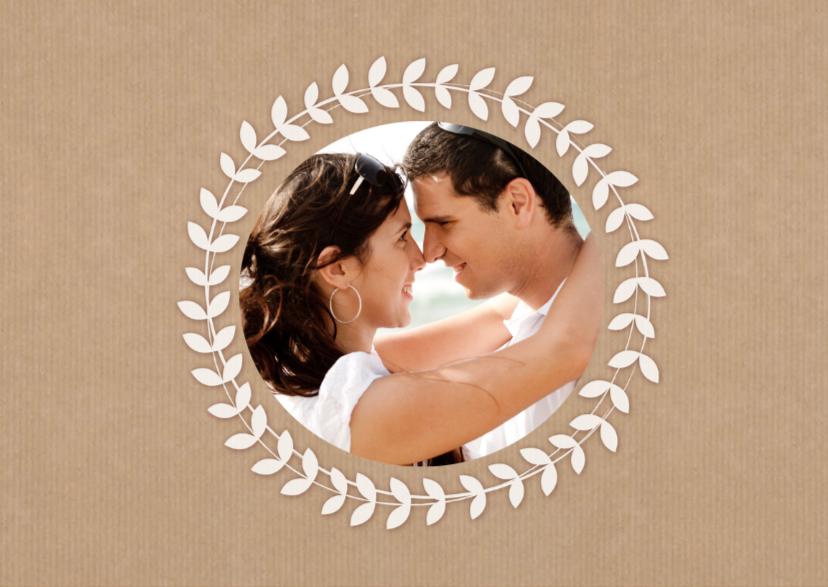 Valentijnskaart Kraft Naam Foto 2