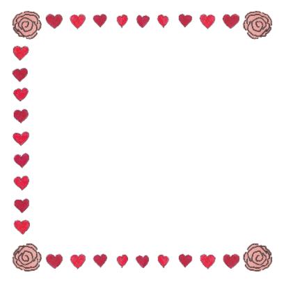 Valentijnskaart met muis en hart 2
